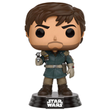 Star Wars Rogue One POP! Vinyl Cabezón Captain Cassian Andor 9 cm