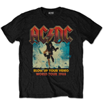 Camiseta AC/DC Blow Up Your Video