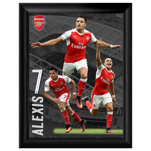 Foto enmarcada Arsenal - Sanchez