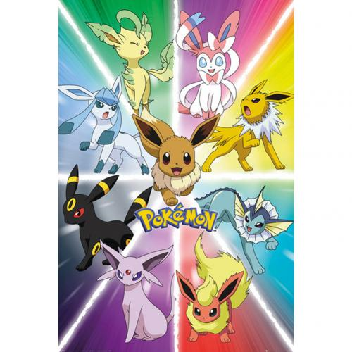 Póster Pokémon Evolution