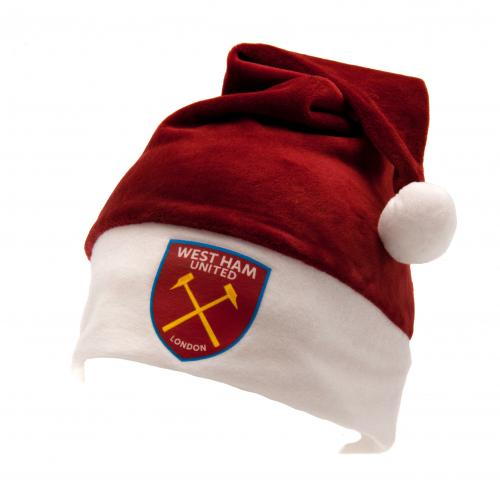 Gorro Papá Noel West Ham United