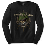 Camiseta manga larga Five Finger Death Punch Warhead