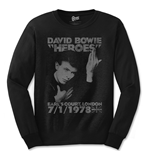 Camiseta manga larga David Bowie Heroes Court