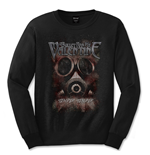 Camiseta manga larga Bullet For My Valentine Temper Temper Gas Mask
