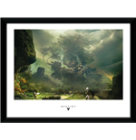 Copia Destiny  - The Fortress Framed Picture (30x40 Cm)