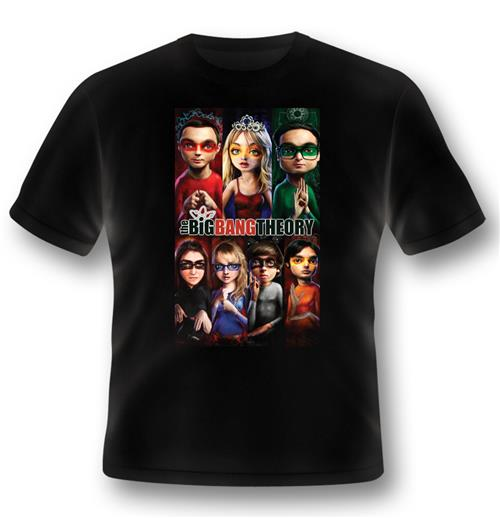 Camiseta Big Bang Theory 245038