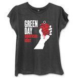 Camiseta Green Day American Idiot de mujer