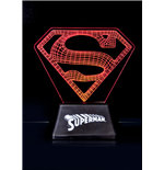 DC Comics Lámpara Superman Edge Logo 18 cm