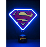 DC Comics Luminaria Neón Superman Shield 23 x 24 cm
