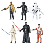 Star Wars Episode VII Pack de 6 Figuras 2016 Battle Pack Exclusive 10 cm