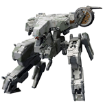 Metal Gear Solid 4 Maqueta Plastic Model Kit 1/100 Metal Gear Rex MGS 4 Version 22 cm