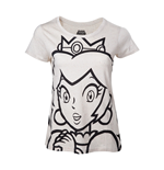 Camiseta Nintendo Princess Peach Outline de mujer