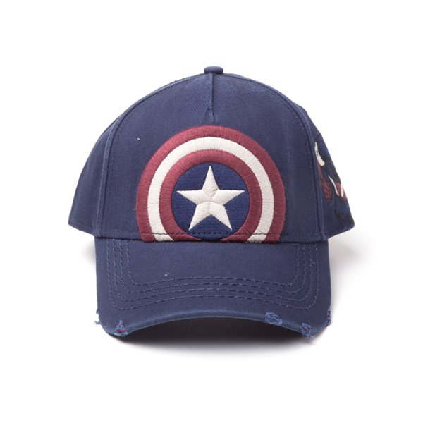 ba19854fcac6c Compra Gorra Marvel Superheroes Captain America Vintage Original