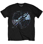 Camiseta Pink Floyd - Machine Greeting Blue Special Edition Black
