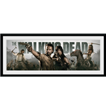 Póster Enmarcado The Walking Dead - Survival - 76x30 Cm