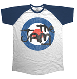 Camiseta The Jam Target Logo Distressed