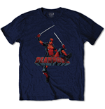 Camiseta Marvel Superheroes Deadpool Logo Jump