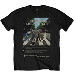 Camiseta The Beatles Abbey Road 8 Track
