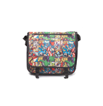 Bolso Messenger Marvel Superheroes All Over Comic Style