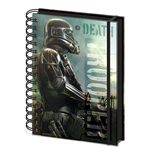 Star Wars Rogue One Libreta A5 Death Trooper