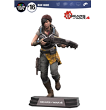 Gears of War 4 Figura Color Tops Kait Diaz 18 cm