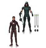 DC TV Pack de 2 Figuras Arrow & The Flash 17 cm