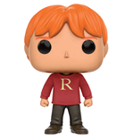 Harry Potter POP! Movies Vinyl Figura Ron Weasley (Sweater) 9 cm
