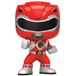 Power Rangers Figura POP! Television Vinyl Red Ranger 9 cm