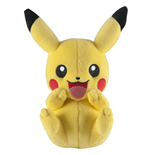 Pokemon Peluche Pikachu C (laughing) 20 cm