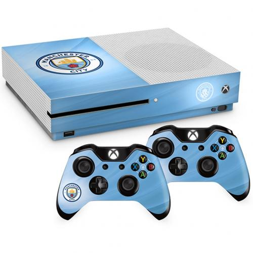 Pack películas protectoras Xbox One Manchester City FC
