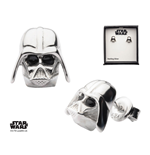 Star Wars Pendientes Darth Vader (Plata de ley)