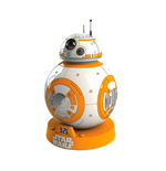 Star Wars Episode VII despertador proyector con sonido BB-8