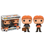Harry Potter Pack de 2 POP! Movies Vinyl Figuras Fred & George Weasley 9 cm
