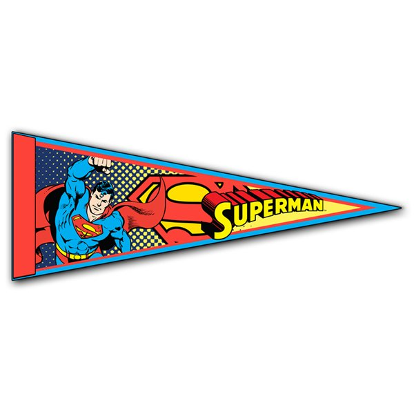 Banderita Superman