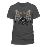 Camiseta Sons of Anarchy - Winged Logo