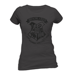 Camiseta Harry Potter - Distressed Hogwarts de mujer