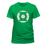 Camiseta Green Lantern - Distressed Logo