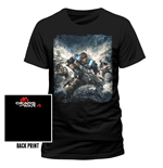 Camiseta Gears Of War - Cover