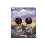 Pack Chapitas Divergent