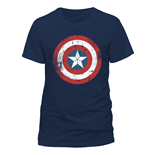 Camiseta Capitán America - Ca Shield Distressed