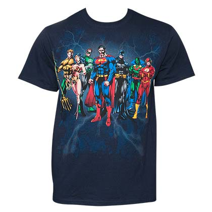 Camiseta Justice League Squad