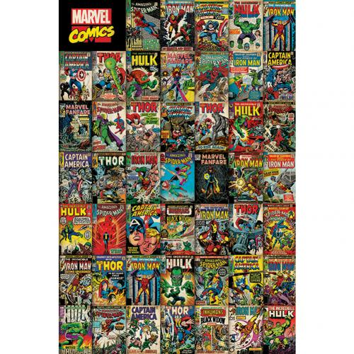 Póster Marvel Superheroes 247778