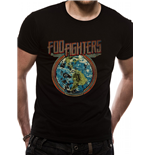 Camiseta Foo Fighters - Globe