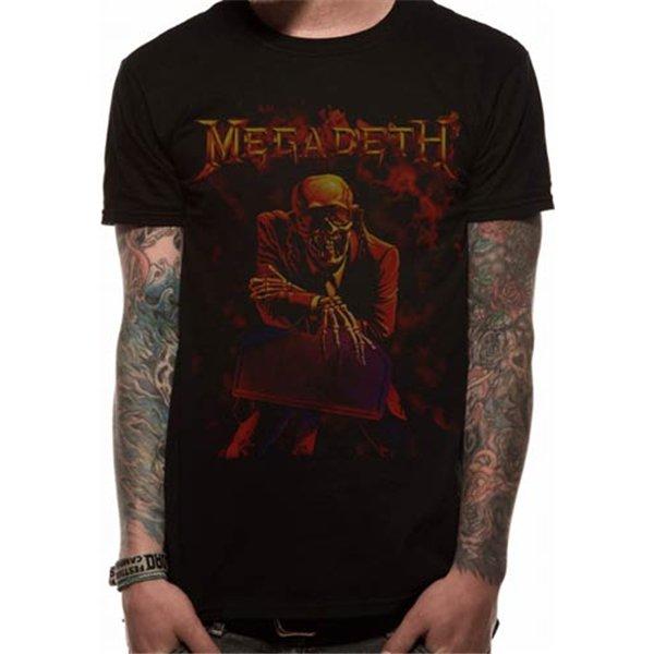 3735cc55b7ed2 Camiseta Megadeth 248020 Original  Compra Online en Oferta