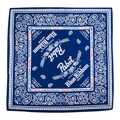 Bandana Pabst Blue Ribbon