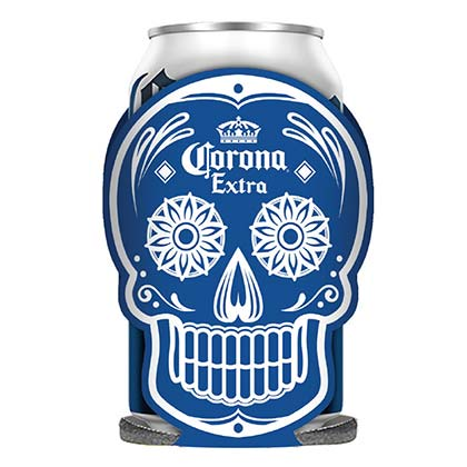 Koozie Coronita Dia De Los Muertos Glow In The Dark