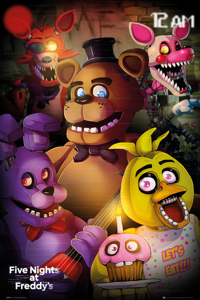 Póster Five Nights at Freddy's