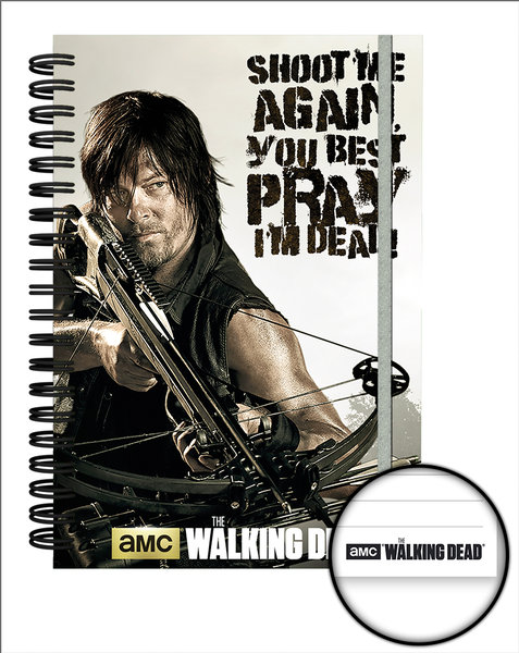 Libreta The Walking Dead Crossbow A5