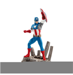 Marvel Comics Minifigura Captain America 10 cm