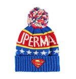 Superman Gorro Beanie Knitted Logo